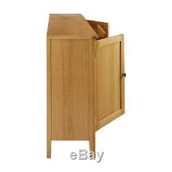 Alba Oak Large Sideboard 3 Drawer 2 Door Sideboard