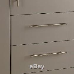 Argos Home Normandy 3 Door 3 Drawer Extra Large Wardrobe Grey