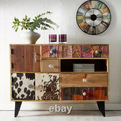 Artisan Design Solid Wood 4 Drawer & Doors Large Sideboard Dining Room Furniture