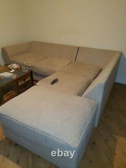 Baumhaus Urban Chic Large Coffee Table With 4 Door & 4 Drawers