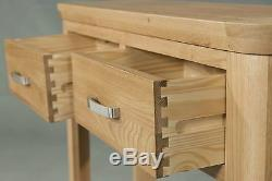 Crescent Large Sideboard With 2 Doors & 3 Drawers Solid Oak Fully Assembled