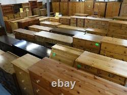 DOVETAILED LARGE SOLID WOOD DOUBLE 2DOOR 4DRAWER WARDROBE 188x124- SEE OUR SHOP