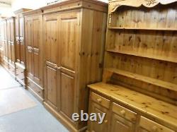 DUCAL ROSEDALE LARGE SOLID WOOD 2DOOR 1DRAWER WARDROBE + LOCK & KEY see shop