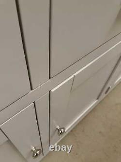 Downton Grey Painted Large 3 Drawer 3 Door Sideboard EX-DISPLAY DT37-F211