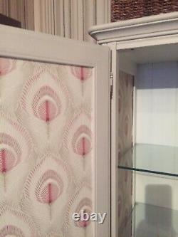 Ducal Large Storage Cupboard, Larder Cupboard, Drawers & Glass Doors & Shelves