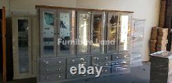Handmade Dewsbury Next Grey MID Oak S, Cup, H12 Drawers6 Doors Large Wardrobe