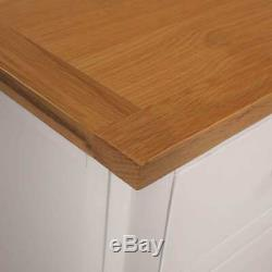Large Solid Oak Sideboard Furniture Wood Storage Cupboard Cabinet Doors Drawers