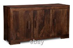 Mango Wood Large Sideboard (h4d)