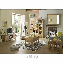 Melrose solid oak furniture large three door three drawer sideboard