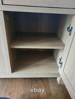 NEXT light oak large Sideboard 3 drawers and doors Excellent condition