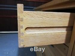 Natural Solid Oak 2 Door 4 Drawer Large Sideboard, Oak Furniture Land