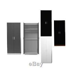 Reflect Large Bedrom Set Optional 9 Door Wardrobe 2 3 5 6 Drawer Chest Bedsides