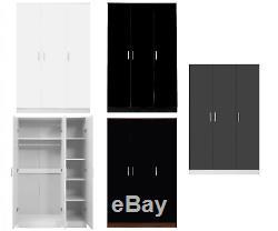 Reflect Large Bespoke Set Optional 9 Door Wardrobe 2 3 5 6 Drawer Chest Bedside