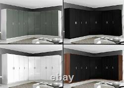 Reflect Large Storage Set Optional 9 Door Wardrobe 2 3 5 6 Drawer Chest Bedsides
