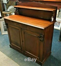 Sideboard / Solid Wood / 2 Door Cupboard / 1 Large Drawer / Storage /