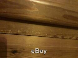 Solid pine, Large 4 door wardrobe with drawers