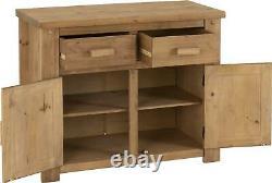 Tortilla 2 Door 2 Drawer Sideboard Shelf Cupboard Cabinet Storage Unit