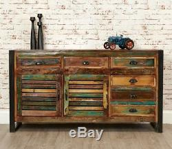 Urban Chic Large Sideboard with Doors and Drawers