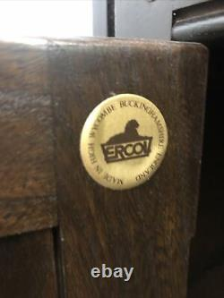 Vintage Ercol Dresser Cupboard 2 Drawers Large Cupboard